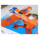 Gulf Airplane Bank - Number Two - Die Cast Bank -