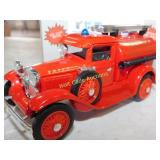 Ford Model A Fire Truck - Die Cast Bank - 1/25 -