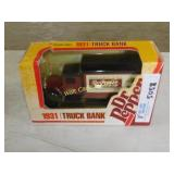 Dr Pepper 1923 Truck - Die Cast Bank - 1/25 - by