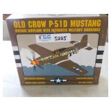 Old Crow P-51D Mustang Vintage Airplane With