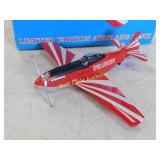 P-51D Mustang  Red Crown Airplane Coin Bank Die