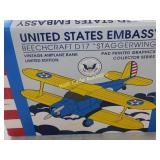 United States Embassy Beechcraft D17 Staggerwing