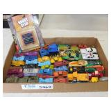 Matchbox Hotwheels and Misc Small Die Cast Metal