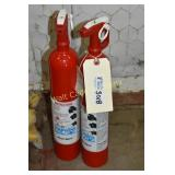 Fire Extinguishers lot of 2