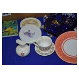 Glass and Porcelain Glassware mix lot