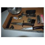 Military Vintage lot- Minor Surgery Kit, Knives
