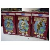 Baseball Cooperstown Collection Figurines lot of