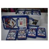 Baseball Donruss tin with Small tins of Baseball
