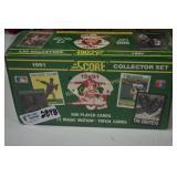 Baseball Cards unopened 1991 Score Collectors Set