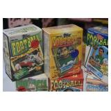Football  Collectors Cards lot of 6 Unopened