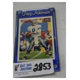 Troy Aikman 1994 Fleer Collectors Card in