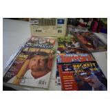 Sports Collectors Magazine lot- Time, Beckett,