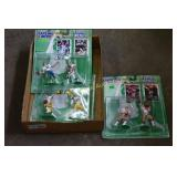 Football figurines and Cards Starting Lineup