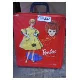 Barbie Carrying Case with Barbies and Accessories