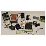 Camera Lot 2 Polaroids Olympus 35mm Plus