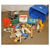 Painting Supplies Bucket of Spikes Lubricant ++