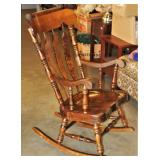 Solid Wood Heavy Rocking Chair