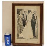 1906 Framed Print The Debutante