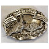 1987 Wild Turkey Federation LE Belt Buckle