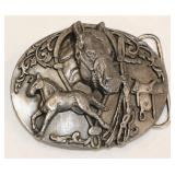 1988 Siskiyou Belt Buckle Colt to Riding Horse