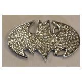 The Ultimate Glittery Batman Belt Buckle w Gems