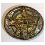 2004 Professional Bull Riders Brass Belt Buckle
