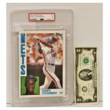 Larger Daryl Strawberry Baseball Card Graded