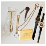 Watches Pipe Cleaner New/Old Brass Shaver +