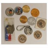 Wooden Nickels Adv Coins Carter Baseball