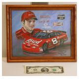 Dale Earnhardt Jr Signed Numbered Framed Print