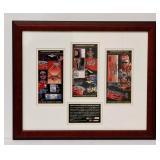 Jeff Gordon LE Framed 3 Winston Cup Tickets
