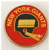 1978 NY Giants NFL Brass Belt Buckle