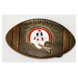 1979 New England Patriots NFL Brass Belt Buckle