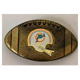 1979 Miami Dolphins NFL Brass Belt Buckle
