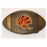 1979 Cincinnati Bengals NFL Brass Belt Buckle