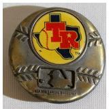 1979 Texas Rangers MLB Brass Belt Buckle
