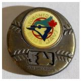 1979 Toronto Blue Jays MLB Brass Belt Buckle