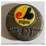 1979 Montreal Expos MLB Brass Belt Buckle
