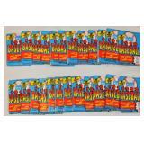 24 Fleer Sealed Packets 1990 Baseball 16 Cards Ea