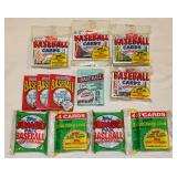 12 Misc Sealed Baseball Card Packets