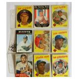 9 Vintage Baseball Cards Most from Late 1950s