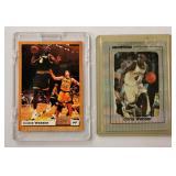 2 Chris Webber Basketball Cards LE & Promo