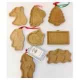 8 Brown Bag Brand Cookie Molds Christmas