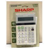 New Sharp Electronic Calculator EL-334TB Tax