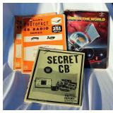 4 CB Manuals Vintage