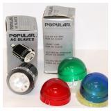 Popular Camera AC Flash Slave Unit & Filters