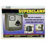 NIB TV Superclamp Heavy Duty TV Mount