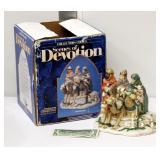 Porcelain Christmas 3 Wisemen Decor