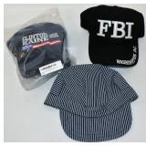 3 New Hats FBI Train Conductor Clinton Election