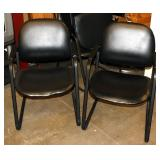 Set of 4 Matching Waiting Office Chairs